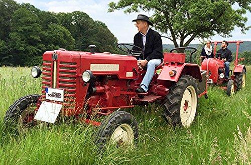 Jochen Schweizer Geschenkgutschein: Oldtimer-Traktor Fahren Raum Heidelberg