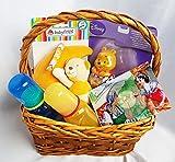Geschenkkorb Geschenk zur Geburt oder Taufe mit Spieluhr Fisher Price Rassel uvm