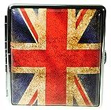 Immerschön Zigaretten-Etui UK Union Jack für 18-20 Zigaretten