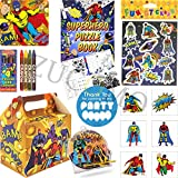 Pre Filled Superhero Boys Party Bags For Children Luxury Birthday Party