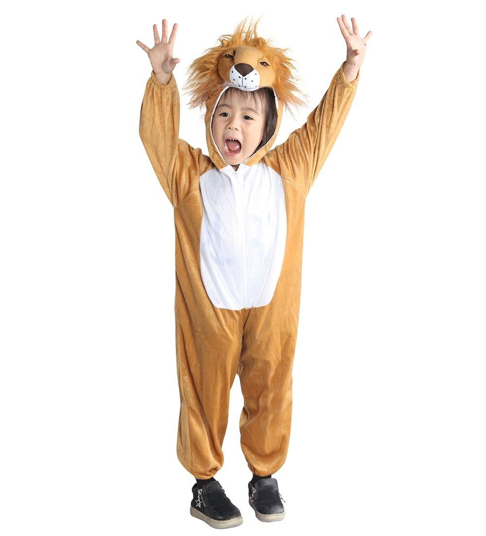 Löwen-Kostüm, An73 Gr. 92-128, für Klein-Kinder, Babies und Kinder, Löwe Kostüme für Fasching Karneval, Kleinkinder-Karnevalskostüme, Kinder-Faschingskostüme, Geburtstags-Geschenk Weihnachts-Geschenk