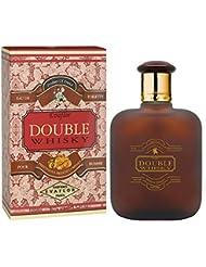 WHISKY Double • Eau de Toilette 100 ml • Vaporisateur • Parfum Homme • EVAFLORPARIS