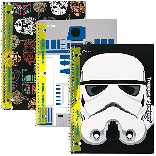 star-wars-trapper-keeper-notebooks-with-snapper-trapper-by-mead-1-subject-wide-ruled-73499-by-mead