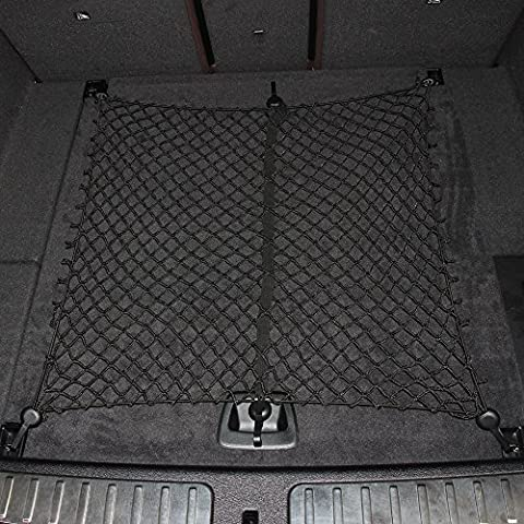 Floor/Envelope Style 6 Hook Car Trunk Cargo Net Universal Auto Elastic Storage