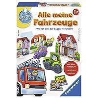 Ravensburger-24722-Alle-meine-Fahrzeuge-Lernspiel Ravensburger Spielen und Lernen 24722 – Alle meine Fahrzeuge -