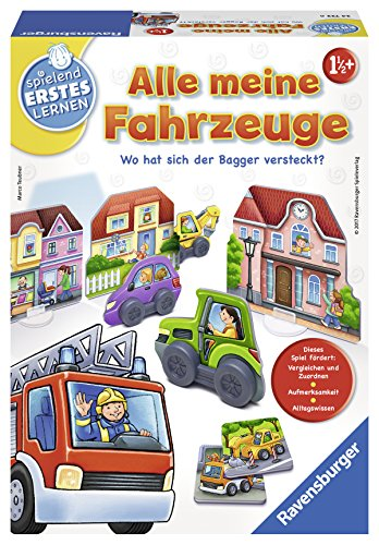 Ravensburger 24722 - Alle meine Fahrzeuge Lernspiel