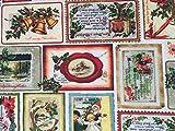 Provencestoffe.com Herrlich Romantischer Weihnachtsstoff,