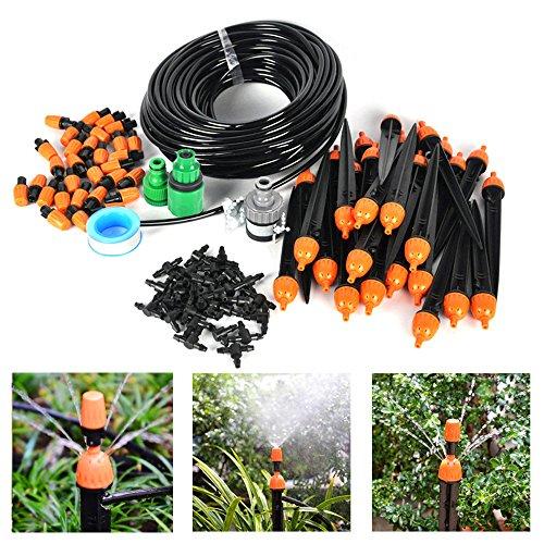 Boruit 25m DIY Automatik Micro Drip Bewässerung Kit Garten Gewächshaus Bewässerung Spray Self Watering Kits