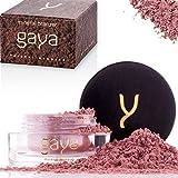 Gaya Cosmetics Bronzer and Highlighter Shimmer Contour Make up Powder - Vegan MB5 Shade 100% Natural Mineral Shimmering für alle Hauttypen – Für glamurös scheinende Wangen - In einer 4g Dose