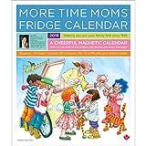More Time Moms 2018 Deluxe Fridge Calendar Family Organizer - September 2017 To December 2018
