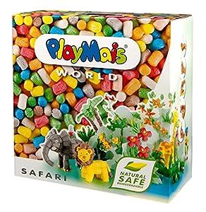 Loick Biowertstoff 160020 PlayMais World Safari - Set de modelado (más de 1000 piezas) importado de Alemania