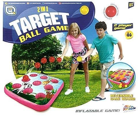 2 in 1 Target Ball Game Indoor & Outdoor Family Fun
