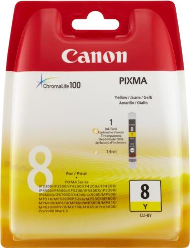 Canon CLI-8 Y Inkjet / getto d'inchiostro Cartuccia originale