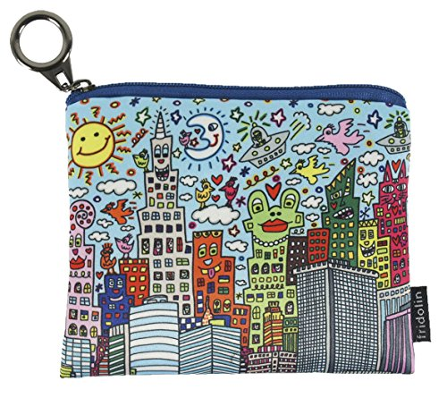 Fridolin Mini Porte-Monnaie avec Fermeture Éclair Rizzi My New York City, 12 cm, Multicolore
