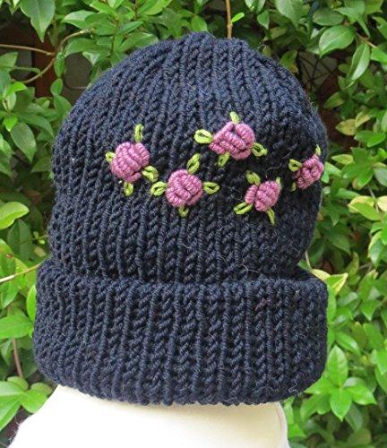 Cappello rose lilla