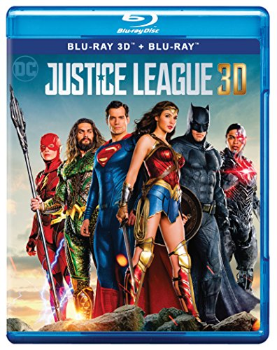 Justice League (Blu-ray 3D & Blu-ray)