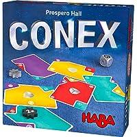 Haba 303497 - CONEX | Cleveres Lege- und Kartenspiel mit vielen Ecken und Kanten | Gesellschaftsspiel für 2-4 Personen | Spiel ab 8 Jahre preisvergleich bei kleinkindspielzeugpreise.eu