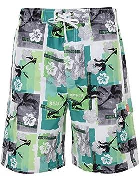 Kam diseño de impresión bolsa de natación con cierre para hombre pantalones cortos pantalones de niño de baño...