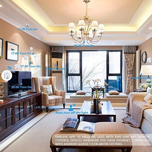 1 kanal smart wifi schalter stimmenkontrolle. Black Bedroom Furniture Sets. Home Design Ideas