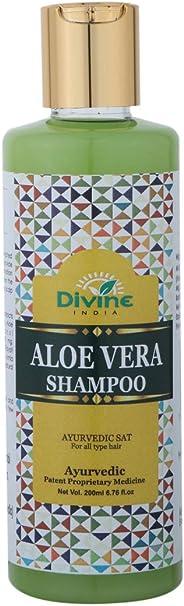 Divine India Aloe Vera Shampoo, 200ml