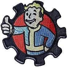 Vault Boy Fallout fer à repasser sur coudre brodée Cosplay ventilateur Patch