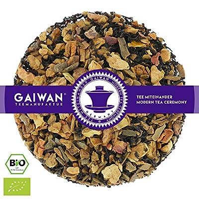 """N° 1105: Thé noir bio """"Pomme cannelle"""" - feuilles de thé issu de l'agriculture biologique - GAIWAN® GERMANY - pommes, cassia, thé noir de Chine"""