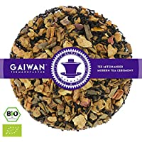"""N° 1105: Thé noir bio""""Pomme cannelle"""" - feuilles de thé issu de l'agriculture biologique - 100 g - GAIWAN GERMANY - pommes, cassia, thé noir de Chine"""
