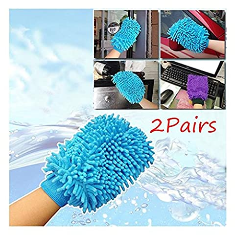 Kicode Microfiber Cleaning Towel Gloves Cloth Delivery Random Microfiber Cloth 18*13Cm Washing Kitchen Window Washing Home Cleaning Towel Set of