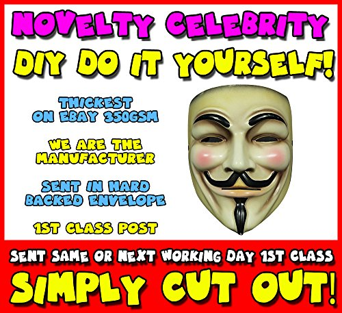 DIY Yourself Face Fawkes Celebrity