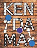 KENDAMA: Personalized Sketch ook: 109 pages, Blank Sketchbook for Drawing, Sketch, Draw  and Paint ( Size: 8.5 x11 ) Activity Notebook for  Sketching, Drawing, Doodling