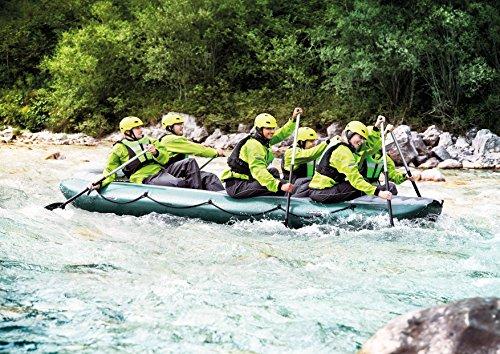 Rafting SCHLAUCHBOOTE - GUMOTEX - Colorado 450 - für 6 Personen - WILDWASSER KAJAK - Farbe ORANGE