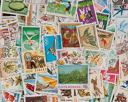 Goldhahn 200 Rumänien Briefmarken für Sammler