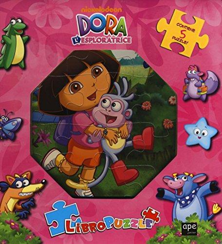 Dora l'esploratrice. Libro puzzle. Ediz. illustrata (Libri gioco)