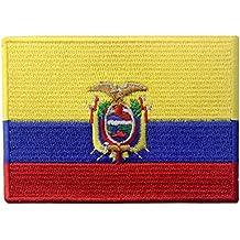 Bandera de Ecuador Ecuatoriano Parche Bordado de Aplicación con Plancha 61d125bb202