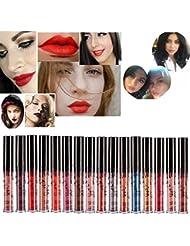 ROMANTIC BEAR 16 Colors Waterproof Long Lasting Matte Liquid Lipstick Beauty Lip Gloss