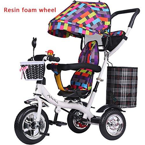 Bubble wheel baby girl carrozzina, bici da bambino, bicicletta, triciclo per bambini, trolley leggero (Colore : # 3)