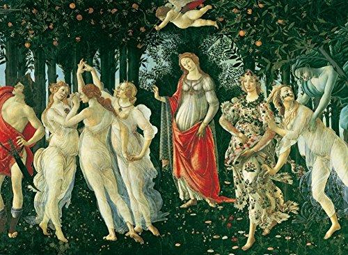 Clementoni 31429.4 -  Botticelli - Der Frühling 1000 teilig