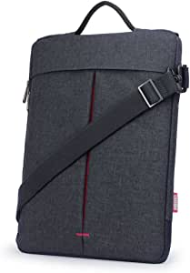 """Multi-funzionale Messenger Bag Black 13/"""" Laptop Tablet Apple MacBook Superficie Pro"""