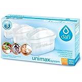 Dafi Unimax Lot de 6 cartouches filtrantes compatibles avec Brita Maxtra, PearlCo Unimax