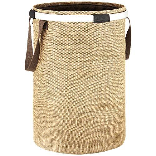 Cesta per biancheria dailydream® indeformabile, con uno scomparto, in un elegante colore beige, 65l capacità