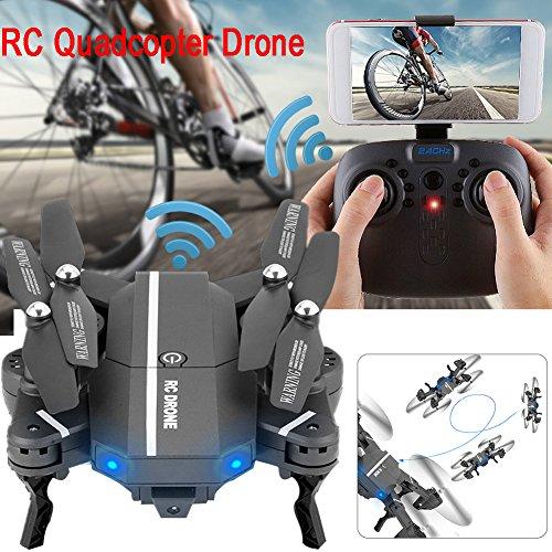 Drone pieghevole con fotocamera 8807w, Wi-Fi, funzionalità di tenuta dell'altitudine, quadricottero senza testa, giroscopio a 6 assi