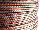 Ricable Custom 2.5/10-10 Metros 2 x 2,5 mmq Cable Hi-Fi de cobre OFC para altavoces