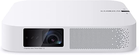 """XGIMI Z6 Polar LED Mini Beamer, Smart 3D Full HD Wireless Projektor, DLP, 1080P, 120 """"Bild, 4K unterstützt mit Harmon Kardon Stereo"""