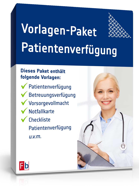Vorlagen-Paket Patientenverfügung [Zip Ordner]