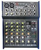 EXTREME MX802DU MIXER 4 CANALI COMPATTO PER LIVE PHANTOM POWER +48V + EFFETTI DSP + USB