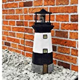 Durable Lighthouse with Spinning Solar Light Weatherproof