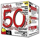 Endlich 50 SPEZIAL - Eine tolle Geschenkidee zum 50. Geburtstag - ein witziges und originelles Geschenk für scharfe Männer und Frauen