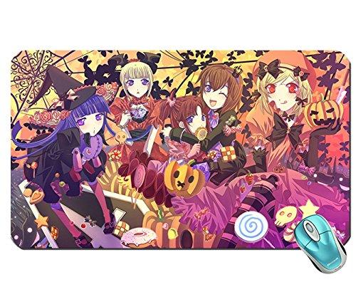 Happy Halloween Tapete Maus Pad Computer Mauspad