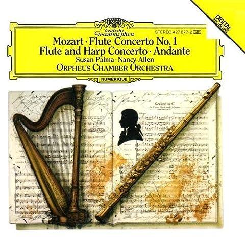 Mozart: Flute Concerto No.1 K.313; Concerto for Flute & Harp