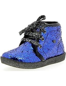 Falcotto 1195 Glitter Scarponcini Bambina Blu Elettrico